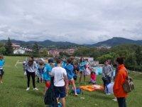 Actividades de exterior en el campamento