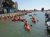 Excursion en kayaks en Cadiz
