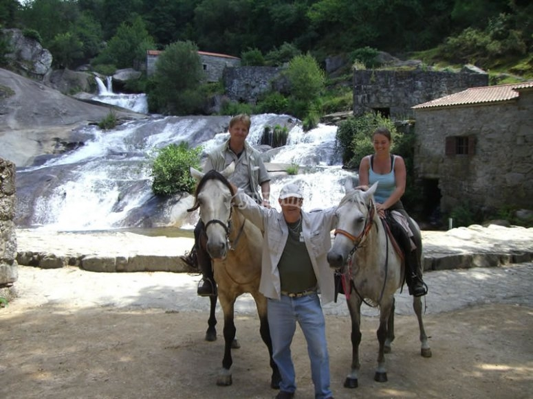camino de santiago en caballo