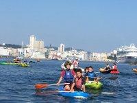Ruta en kayak en A Coruña