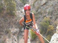 Via ferrata course in Alfaz del Pi, one day
