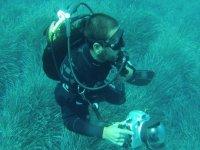 Captando imagenes submarinas