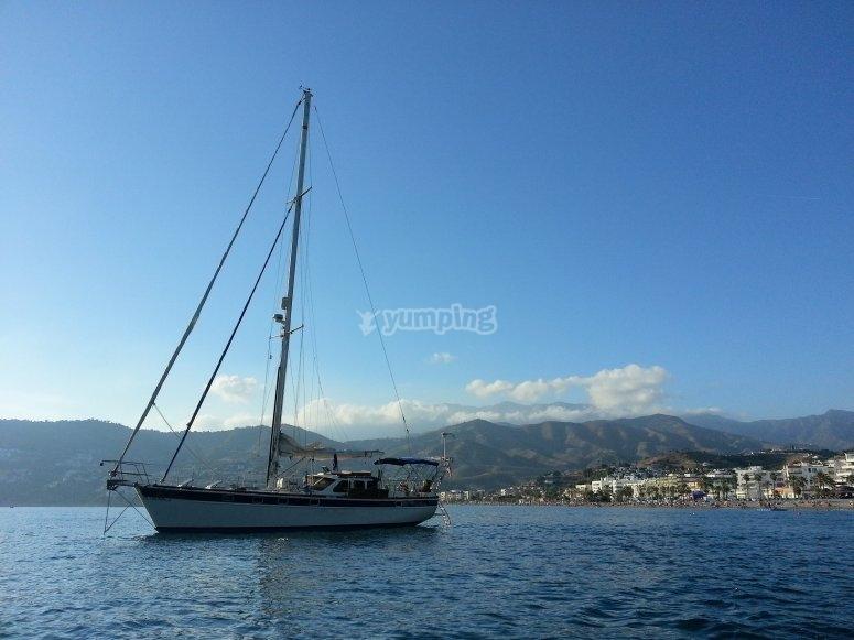 巴利阿里群岛上的帆船