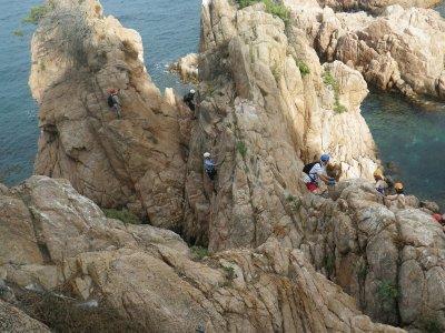 Vía ferrata Cala del Molí con fotos 2h 30 min