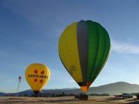为飞行准备气球