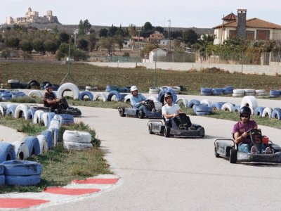 Karting infantil biplaza tanda de 12 minutos