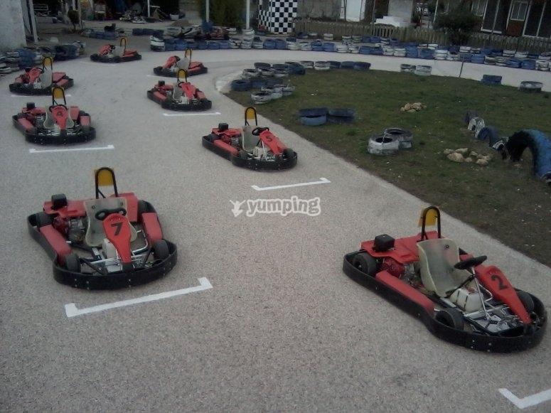 Gara di go-kart