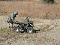 checking the quad