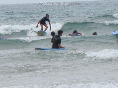 Respira Ocio y Tiempo libre Campamentos de Surf