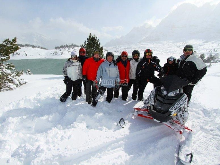 Descubre nuestras motos de nieve