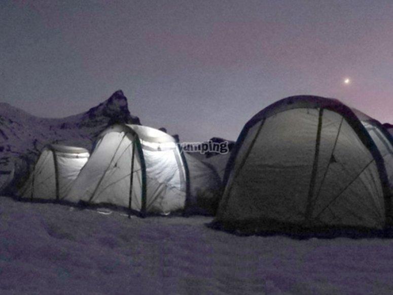 Dormir una noche en el Valle de Tena