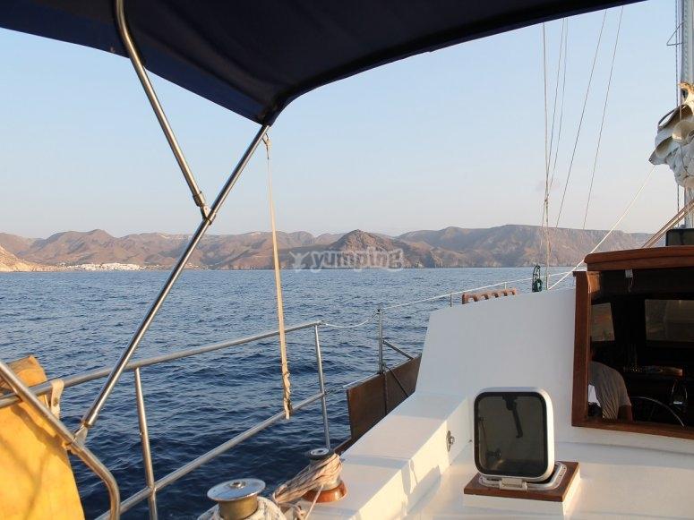 Travesia en velero