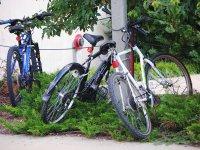 Bikes prepared