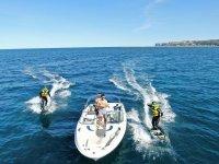 Navigare sulla costa di Denia
