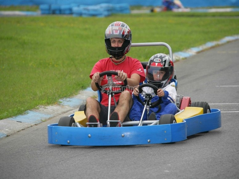 Two-seater Kart
