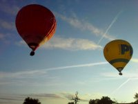 Several balloons