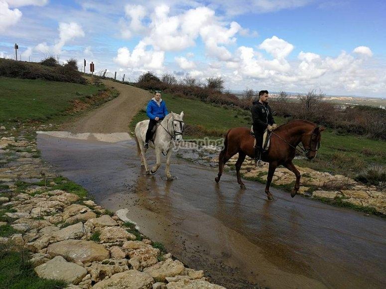 Ruta a caballo en Segovia