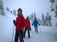 Planea tu ruta por los senderos nevados de Baqueira