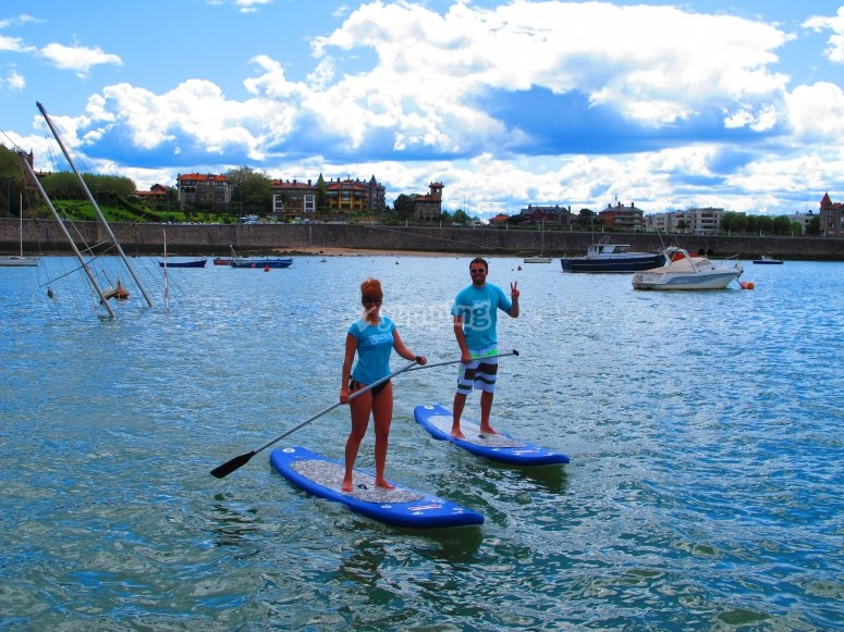 Paddle surf en Bilbao