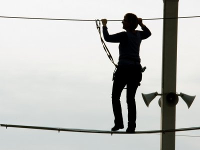 Medium & Advanced Ropes Course in Barcelona