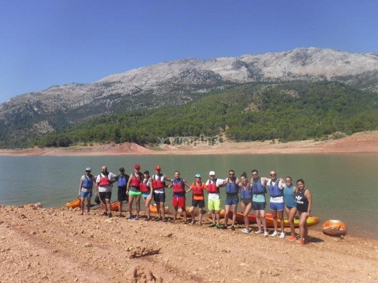 Salidas en grupo en kayaks