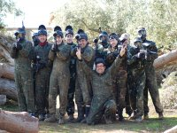 Group in Paintball Priego