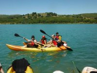 Piragüismo Travesía guiada en Kayaks