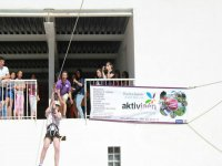 5 lanzamientos en tirolina, Jaén, desde los 6 años