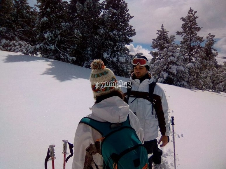 Ski journeys