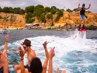 Party and Flyboarding