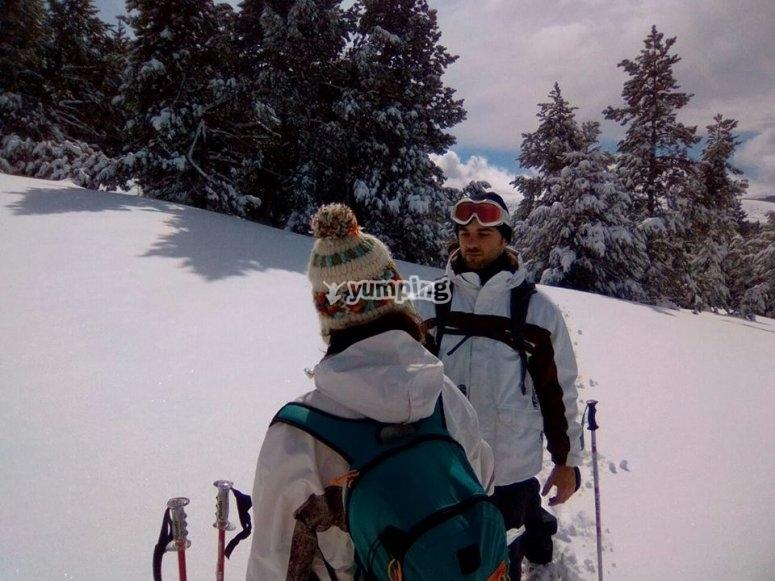 travesias de esqui