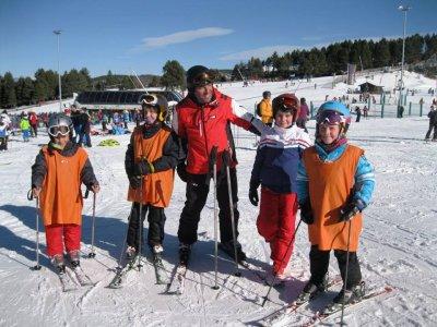 Clase colectiva de esquí en Masella 3 horas