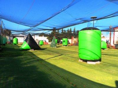 Partida de paintball con 300 bolas, en Chiclana