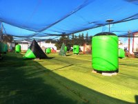 Partida de paintball con 300 bolas, en Chiclana