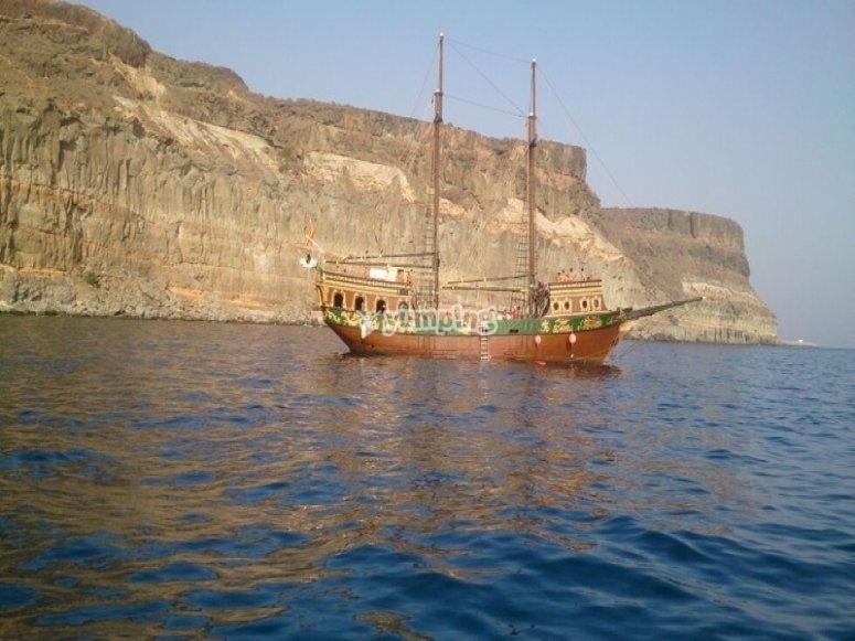 Nuestro barco pirata