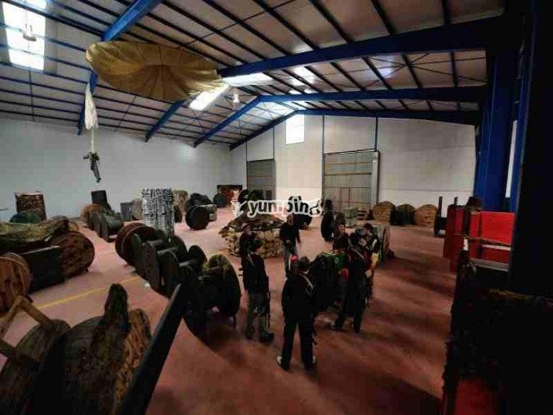 Escenario indoor de laser tag