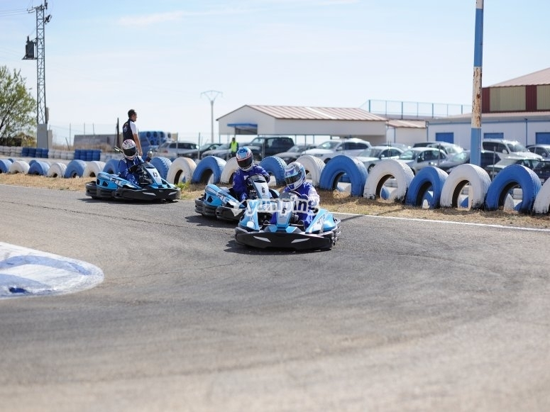 Paintball y karting madrid