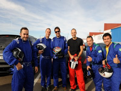 Paintball y karting en Madrid