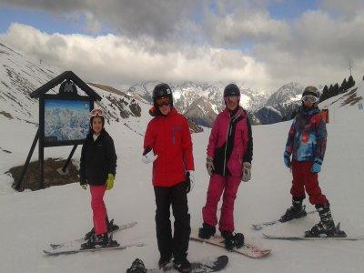 Clase particular de snowboard en Cerler 1 hora