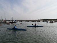 Kayaks en Lepe