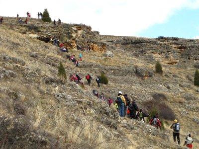 Sentiero escursionistico attraverso la valle del Pirón, 3 ore