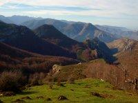 la montana en la via Romana del Iregua