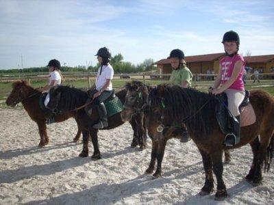 Cumpleaños:Paseo en poni y menú infantil, Fontanar