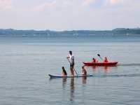 Paddle surf con bambini