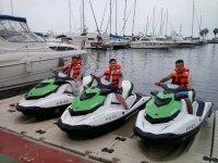 Nuestra flota de motos de agua