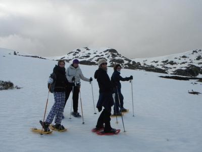 Raquetas de Nieve en Parque Nacional de Guadarrama