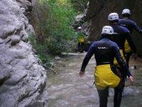 Road in the ravine