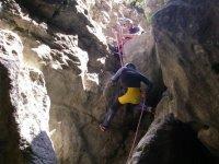Entering the ravine