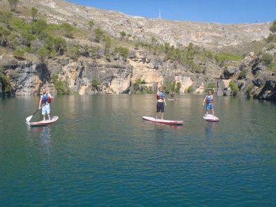 划桨冲浪II级3h的板下降