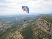 Paragliding on the Pyrenees